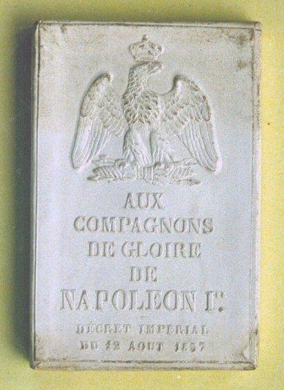 boite de la médaille de Sainte-Hélène