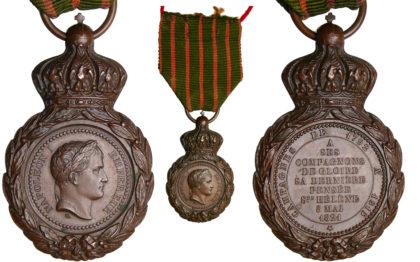 médaillés de Sainte-Hélène